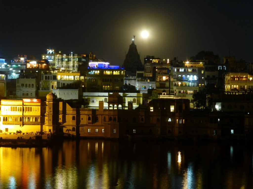 Udaipur's night view