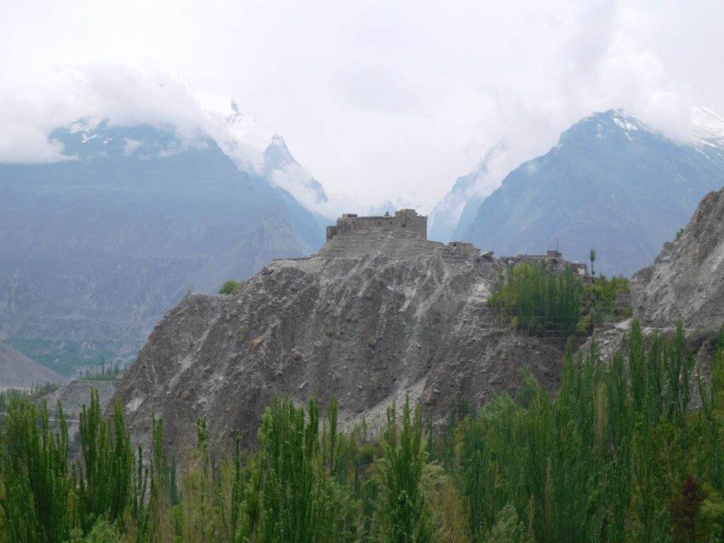 The Baltit fort